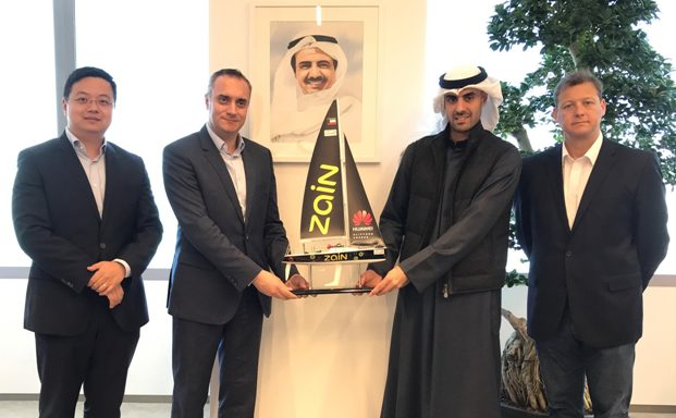bader-al-kharafi-honored-by-huaweis-mohammad-sharara-for-his-support-of